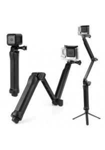 GoPro Accessories Monopod 3-Way Multi-function Folding Arm Self-timer Lever Tripod Mounts