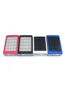Solar Panel 50000mah Power Bank With Camp LED Light (OEM)