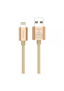 PINENG PN305 & PN306 Charging Cable Data Cable - Gold/Silver