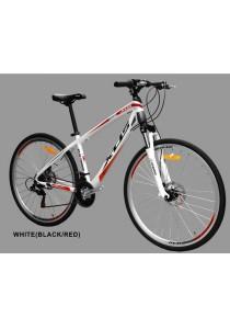 "700C XDS CX380 Trekking Bike White (Black/Red) (21 Speed) Size M (16.5"")"