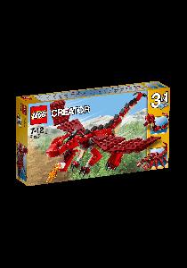 LEGO CREATOR Red Creatures (31032)