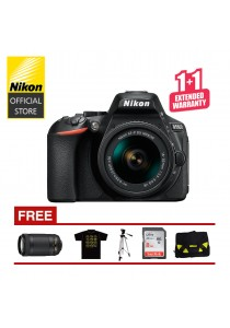 Nikon D5600 + 18-55mm DSLR Camera