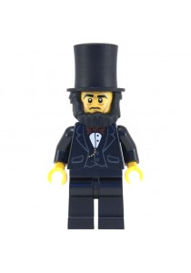 LEGO MOVIE MINIFIGURE-5 Abraham Lincoln