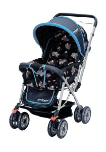 Sweet Heart Paris ST49 Stroller (Dark Blue) with Reversible Handlebar