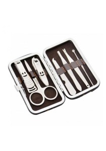 [OEM] 7-in-1 Stainless Steel Nail Manicure Personal Beauty Set
