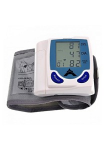 [OEM] Digital Wrist Blood Pressure Monitor & Heart Beat Meter