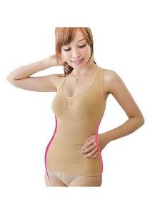 [OEM] X-shaped Strengthen Slimming Suit (Black)