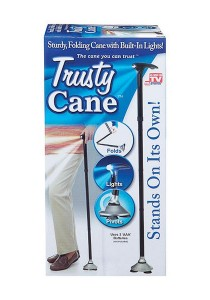 As Seen on TV Trusty Cane A Must for Elders (Black)