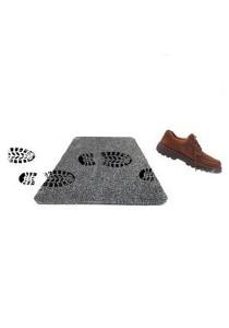 As Seen on TV Magic Clean Step Mat (Black)