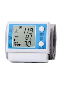 GTE Digital Large LCD Display Wrist Blood Pressure Monitor & Pulse Meter