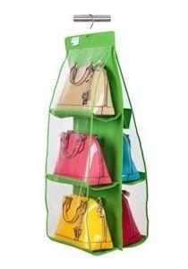 GTE Dust Proof and Waterproof Handbag Storage Organizer (Green)