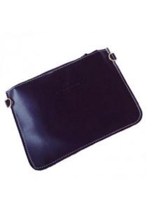 [OEM] Korean PU Leather Mini Essential Sling Bag