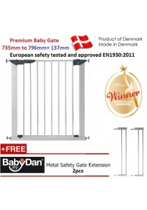 Made in Denmark Promotion ( Euro Safety Standard ) Baby Dan Premier Baby Gate