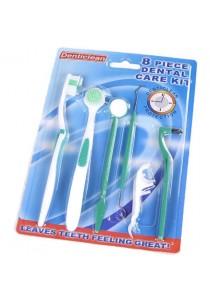 8-Piece Home Dental Care Kit