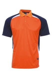 Microfibre Polo T Shirt DFT 01 02 (Orange)