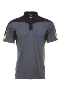 Microfibre Polo T Shirt DFT 02 03 (Charcoal)