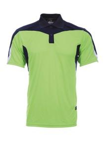 Microfibre Polo T Shirt DFT 02 04 (Neon Green)