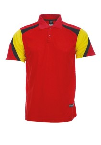 Microfibre Polo T Shirt DFT 03 02 (Red)