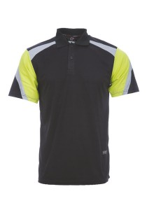 Microfibre Polo T Shirt DFT 03 03 (Black)