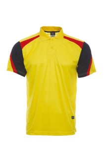Microfibre Polo T Shirt DFT 03 03 (Yellow)
