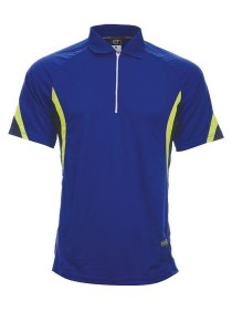 Microfibre Polo T Shirt DFZ 04 01 (Royal Blue)