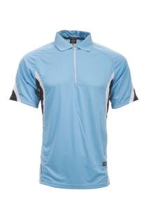 Microfibre Polo T Shirt DFZ 04 03 (Sky Blue)