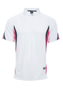 Microfibre Polo T Shirt DFZ 04 04 (White)