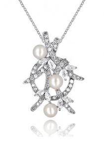 Divine Fresh Water Pearl Pendant Necklace