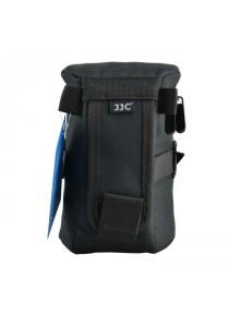 JJC DLP4 Weather-Resistant Nylon Deluxe Pouch Lens Case for Camera DSLR Lens (190mm)