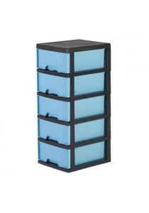 Felton Plastic 5 Drawer Storage