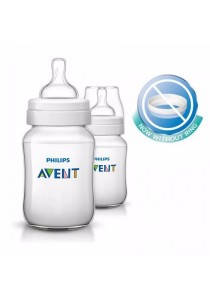 Philips Avent Classic Plus Bottle 9oz/260ml (Twin Pack)