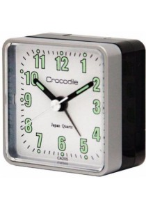 CROCODILE Clocks CA205 - Silver