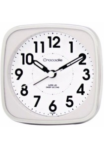 CROCODILE Alarm Clock CAL838 - White