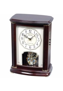 Wooden Mantel from Rhythm Clocks - CRH212NR06