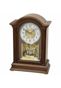 Wooden Mantel from Rhythm Clocks - CRH238NR06
