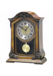 Wooden Mantel from Rhythm Clocks - CRJ717CR06