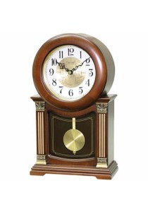 Wooden Mantel from Rhythm Clocks - CRJ722CR06