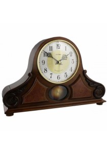 Wooden Mantel from Rhythm Clocks - CRJ742BR06