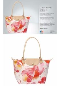 Longchamp Splash Small Tote Bag