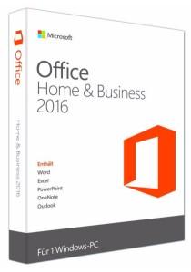 Microsoft Office Home & Business 2016 32-bit/X64 Eng APAC DVD P2