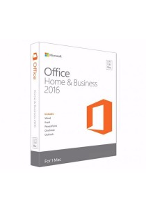 Microsoft Office Mac Home Business 1PK 2016 English APAC EM Medialess P2