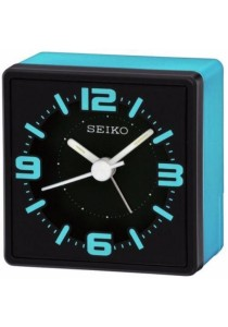 SEIKO Alarm Clocks QHE091L - Blue