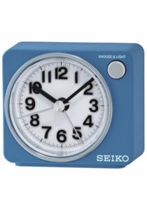 SEIKO Alarm Clocks QHE100 - Blue