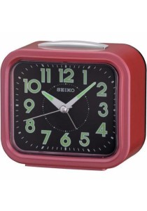 SEIKO Alarm Clocks QHK023 - Red