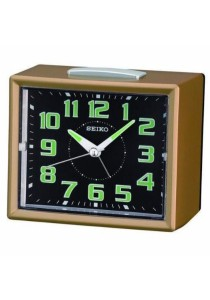SEIKO Alarm Clocks QHK024 - Brown