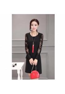 Fashion OL Dress (Black)