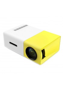 OHHS YG300 LCD Mini Pocket Portable LED Projector