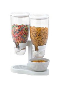 Twin Cereal Dispenser