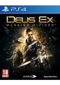 [Pre-order] Deus EX: Mankind Divided (PS4)
