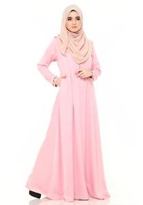 Zeitoun Galleria Ayesha Jubah in Dusty Pink